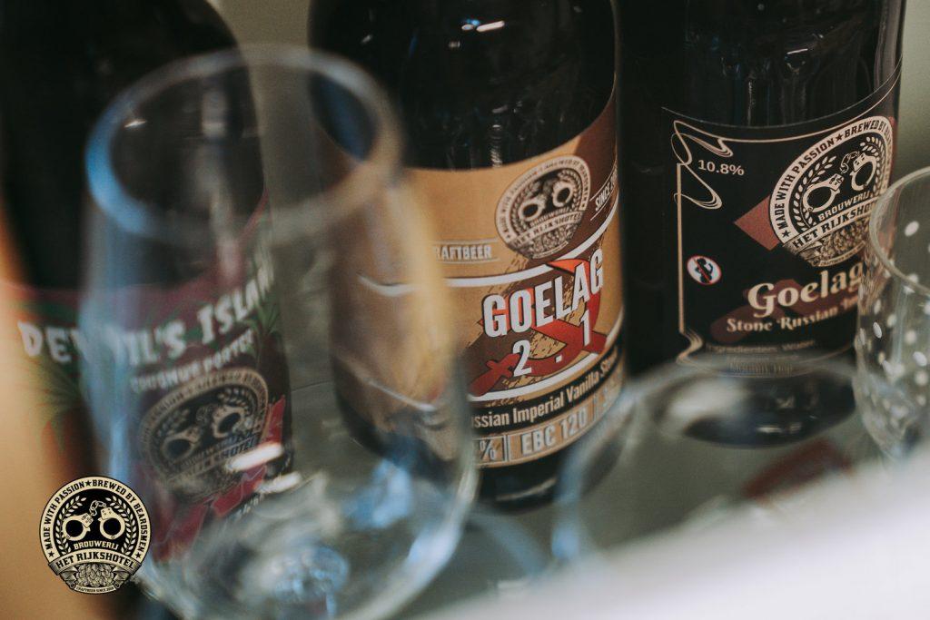 Brouwerij Rijkshotel Goelag bierfles bier