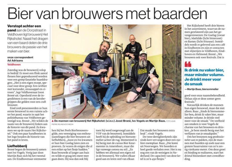 Rijkshotel eindhovens Dagblad